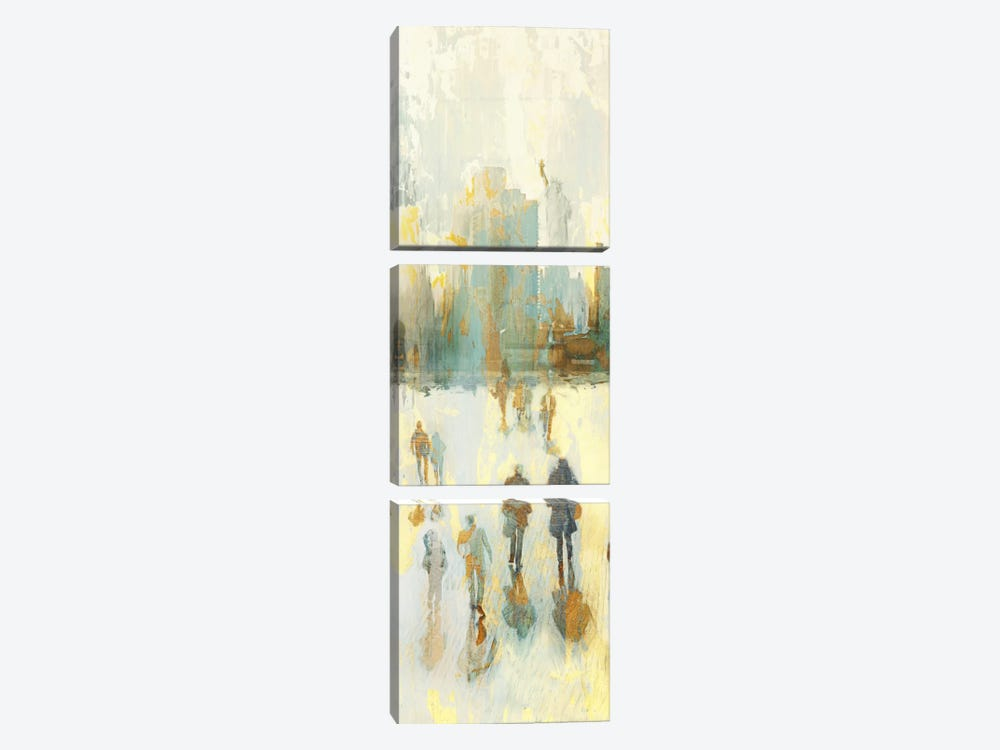 NY Shadows II by Edward Selkirk 3-piece Canvas Art