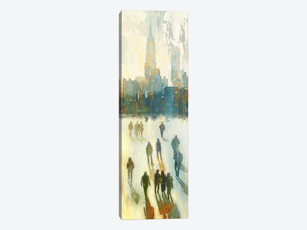 NY Shadows III by Edward Selkirk 1-piece Canvas Art Print