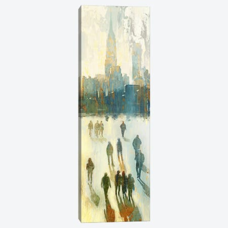 NY Shadows III Canvas Print #ESK193} by Edward Selkirk Canvas Print