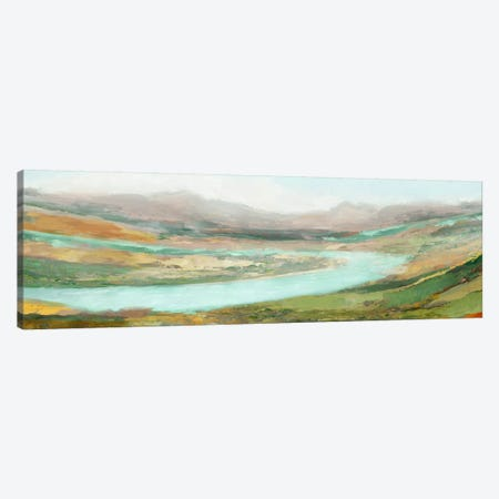 Aerial Landscape Canvas Print #ESK1} by Edward Selkirk Canvas Print