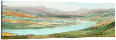 Aerial Landscape Canvas Art Print