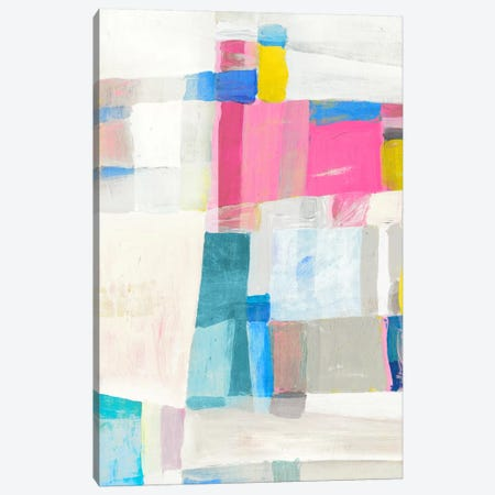 Pastel Hues I Canvas Print #ESK207} by Edward Selkirk Canvas Wall Art