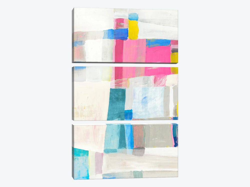 Pastel Hues I by Edward Selkirk 3-piece Canvas Artwork
