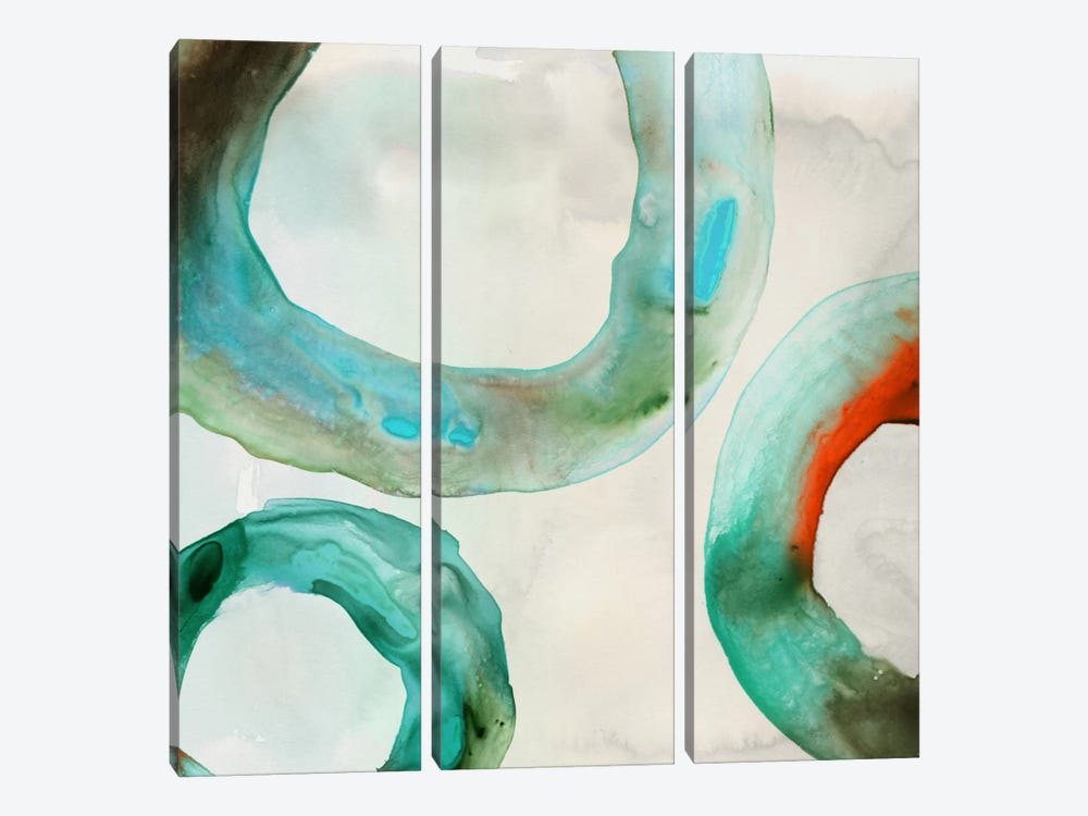 Quartz I by Edward Selkirk 3-piece Canvas Art Print