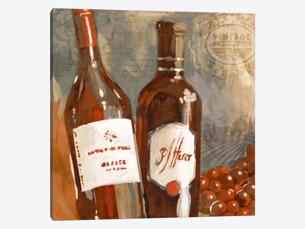 Red Wine I by Edward Selkirk 1-piece Art Print