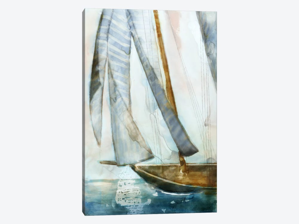 Sailboat Blues I by Edward Selkirk 1-piece Art Print