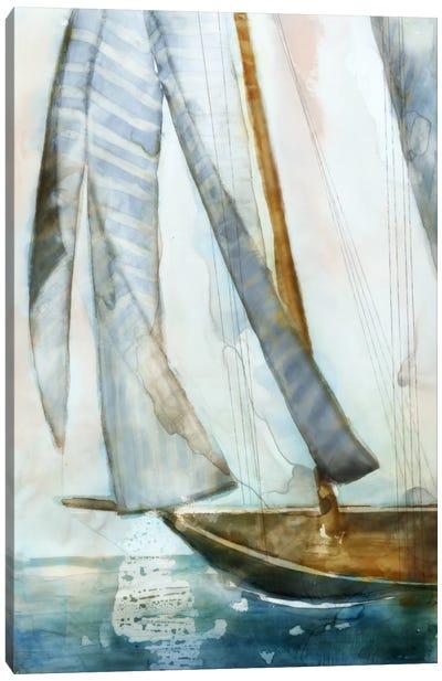 Sailboat Blues I Canvas Art Print