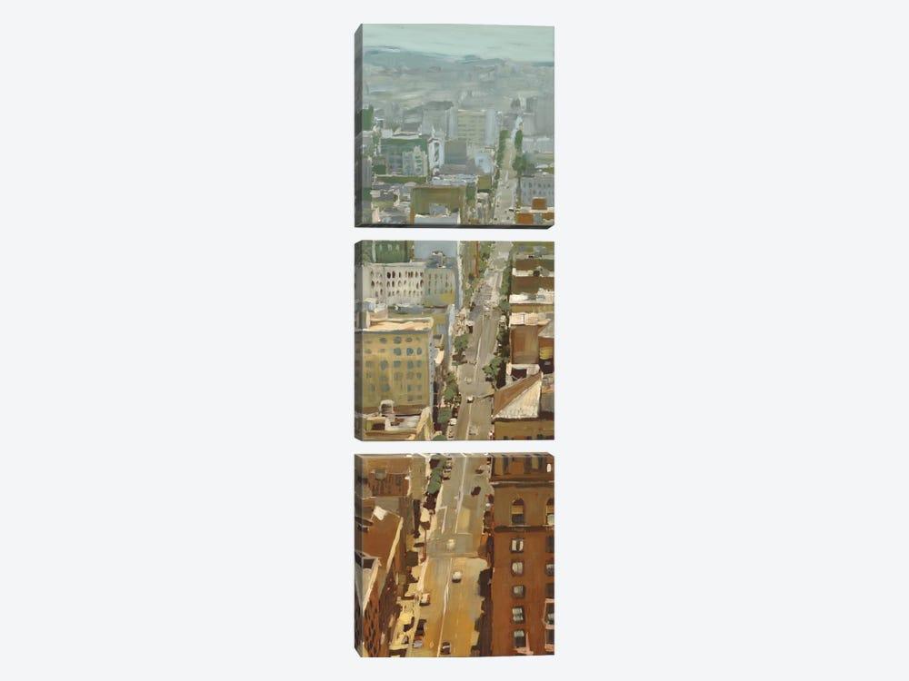 San Fran Cityscape I by Edward Selkirk 3-piece Canvas Art Print
