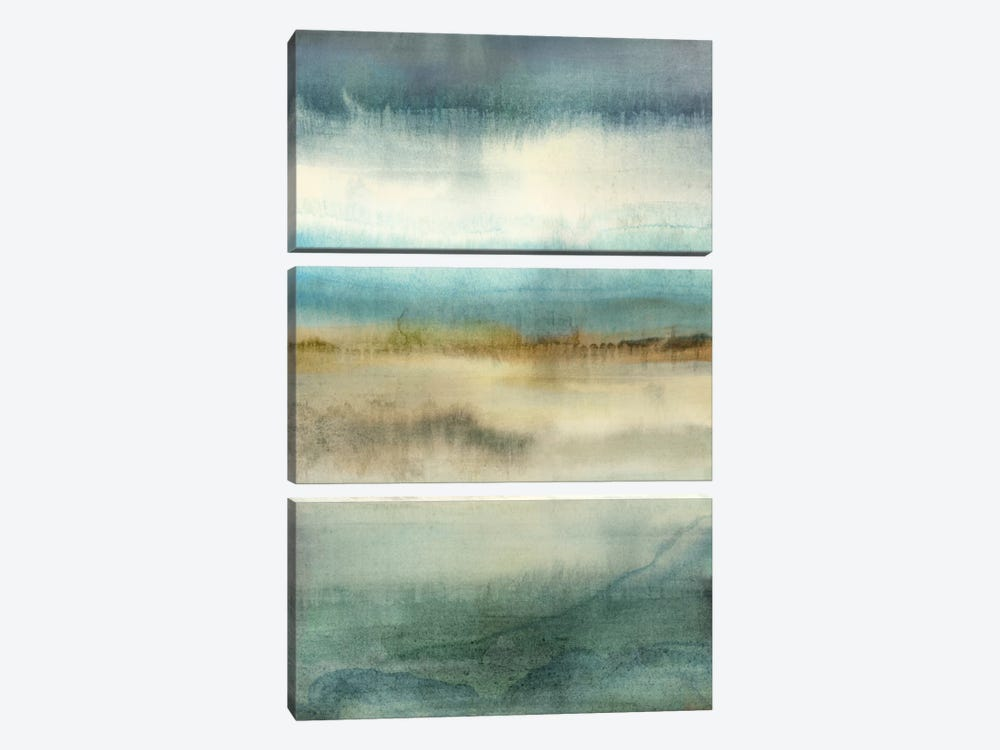 Blue Reverie by Edward Selkirk 3-piece Canvas Artwork