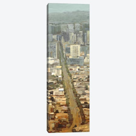 San Fran Cityscape II Canvas Print #ESK220} by Edward Selkirk Canvas Print