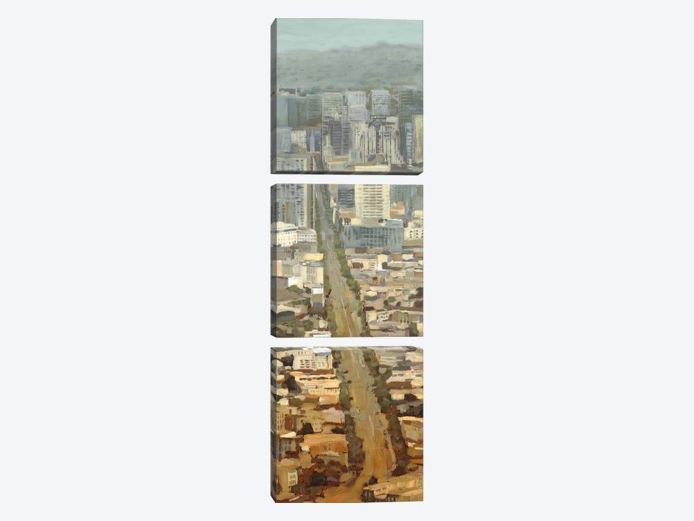 San Fran Cityscape II by Edward Selkirk 3-piece Art Print