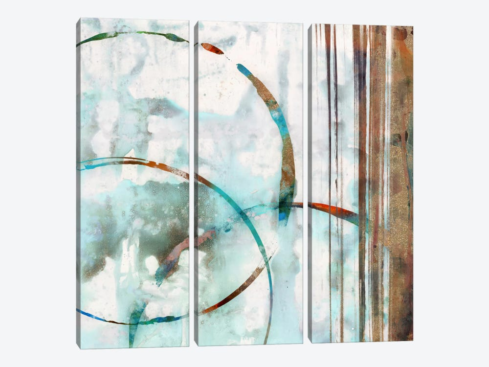 Seafoam I by Edward Selkirk 3-piece Canvas Print