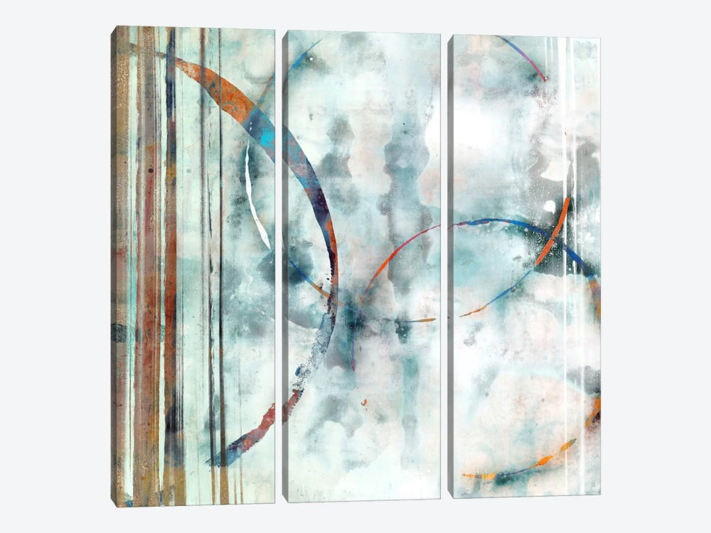 Seafoam II by Edward Selkirk 3-piece Canvas Wall Art