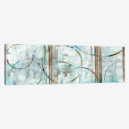 Seafoam Panoramic Canvas Print #ESK226} by Edward Selkirk Canvas Art