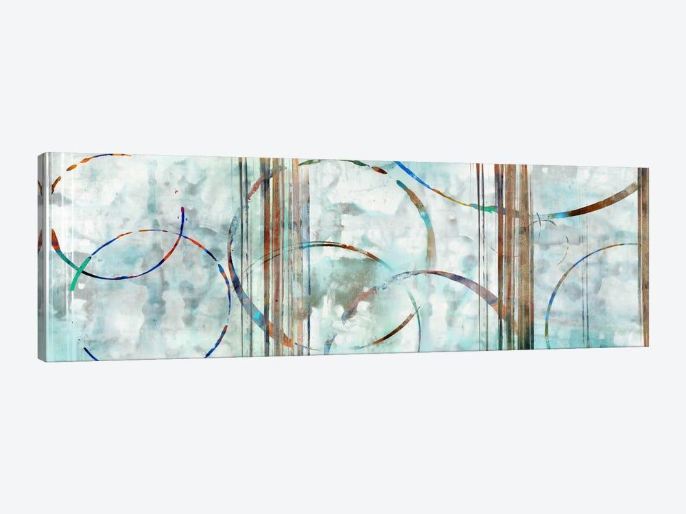 Seafoam Panoramic by Edward Selkirk 1-piece Canvas Art Print