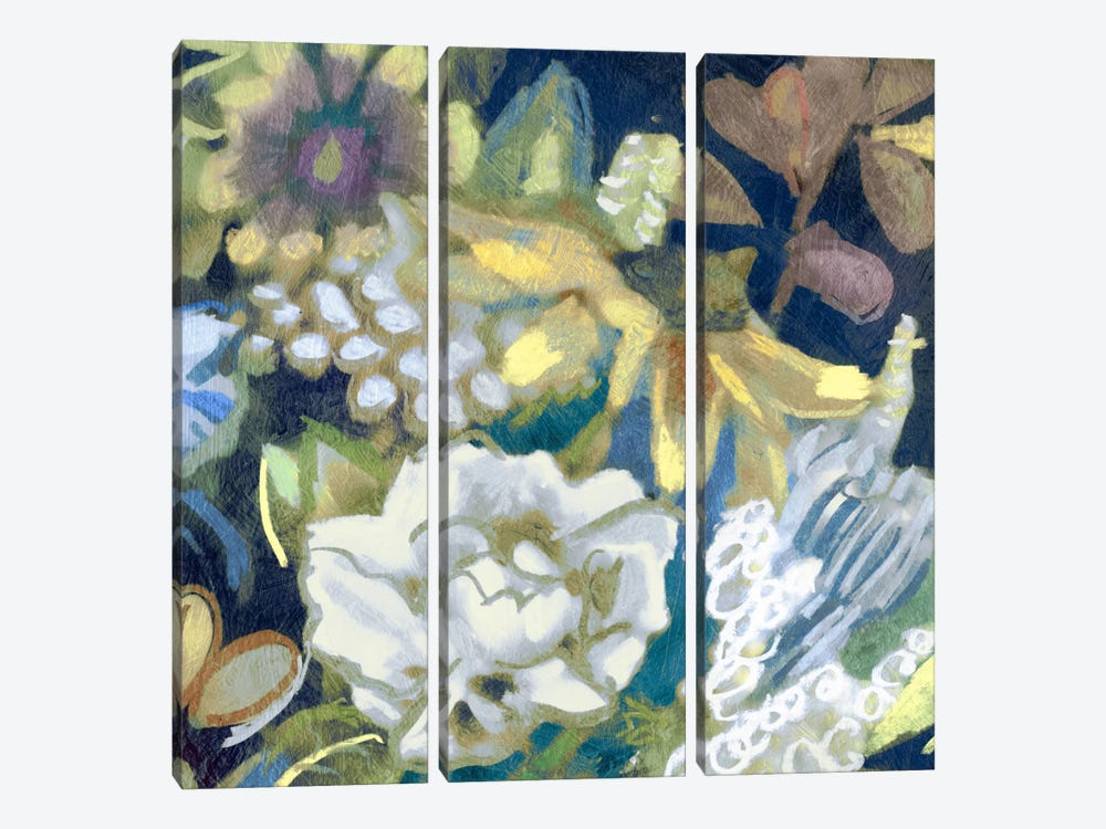 Bouquet I by Edward Selkirk 3-piece Canvas Print