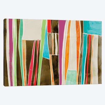 Striped Flat II Canvas Print #ESK251} by Edward Selkirk Canvas Artwork
