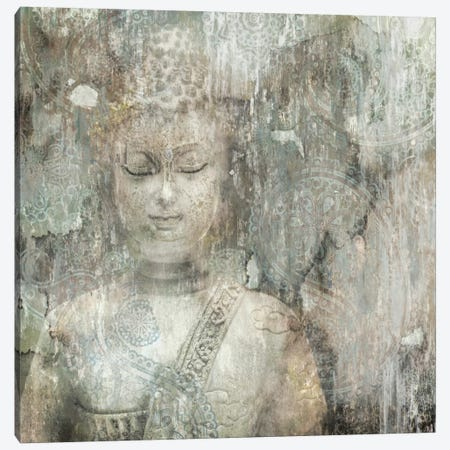 Buddha Canvas Print #ESK25} by Edward Selkirk Canvas Artwork