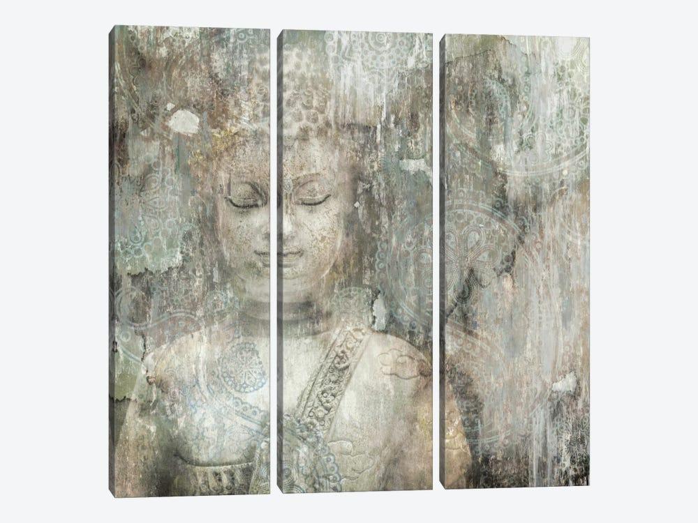 Buddha by Edward Selkirk 3-piece Canvas Artwork