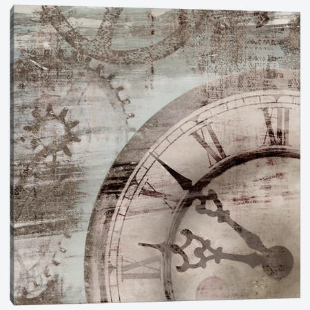 Tick Tock I Canvas Print #ESK260} by Edward Selkirk Canvas Art Print