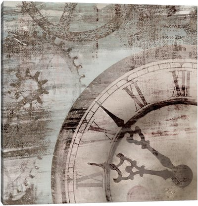 Tick Tock I Canvas Art Print