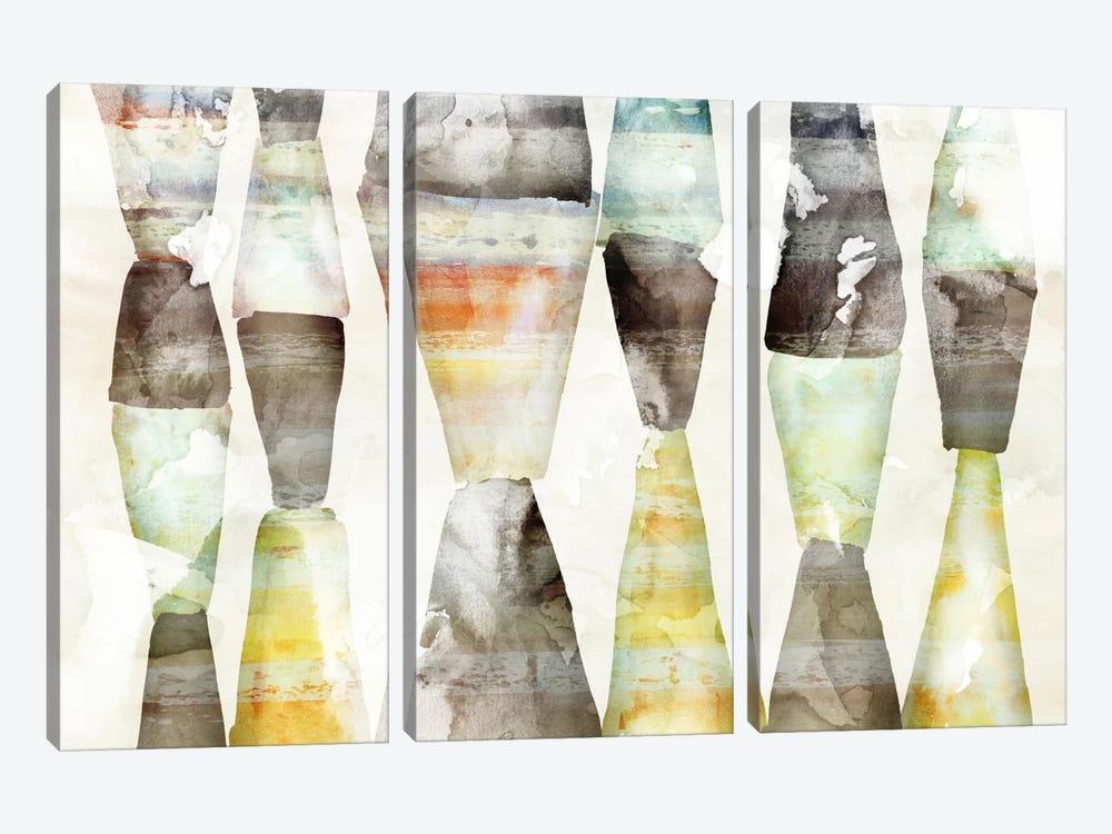 Trapezoid by Edward Selkirk 3-piece Canvas Wall Art