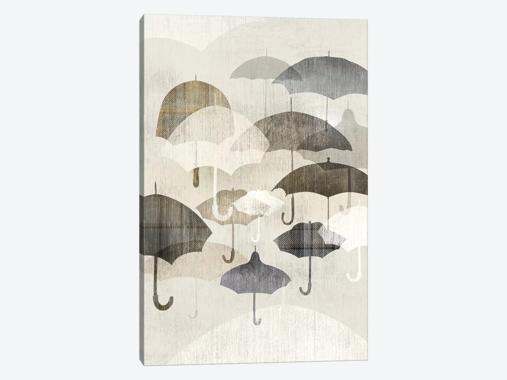 Umbrella Rain II by Edward Selkirk 1-piece Art Print