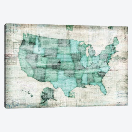 USA Canvas Print #ESK276} by Edward Selkirk Canvas Print