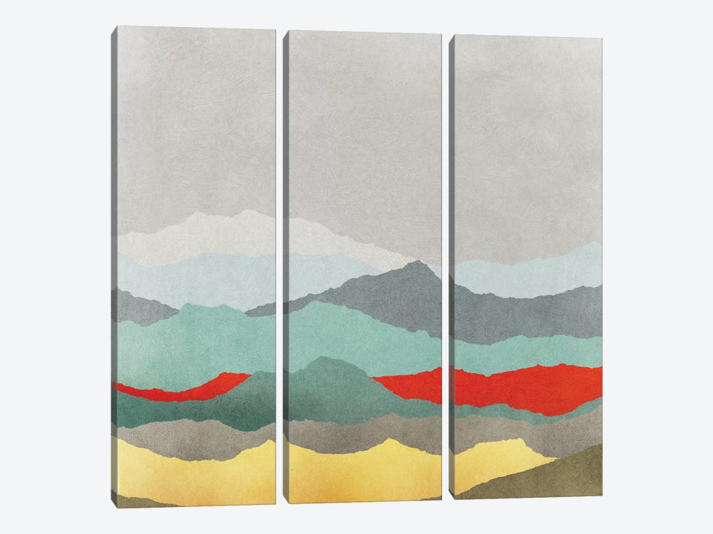 Vast Plains II by Edward Selkirk 3-piece Canvas Art