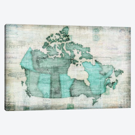 Canada Canvas Print #ESK27} by Edward Selkirk Canvas Artwork