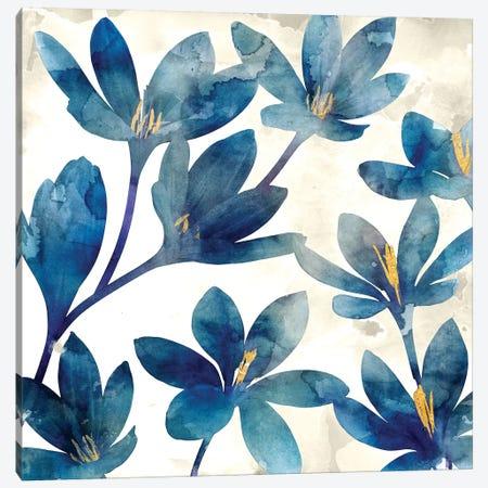 Veranda Blue I Canvas Print #ESK280} by Edward Selkirk Canvas Art Print