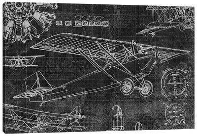Vintage Aviation I Canvas Art Print