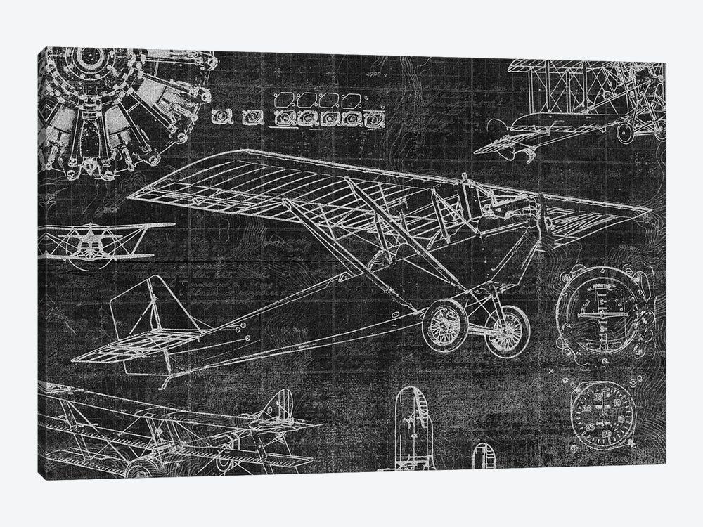 Vintage Aviation I by Edward Selkirk 1-piece Canvas Art Print