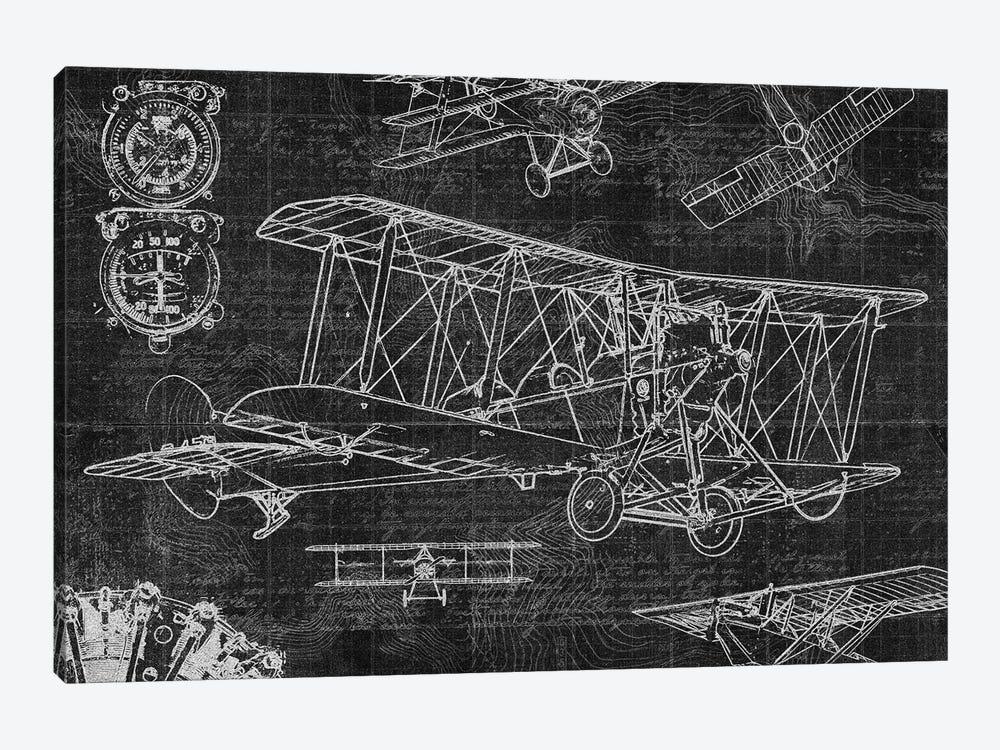 Vintage Aviation II by Edward Selkirk 1-piece Canvas Artwork