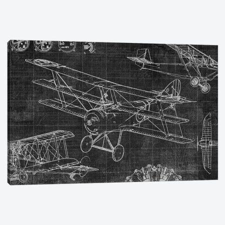 Vintage Aviation III Canvas Print #ESK288} by Edward Selkirk Canvas Print