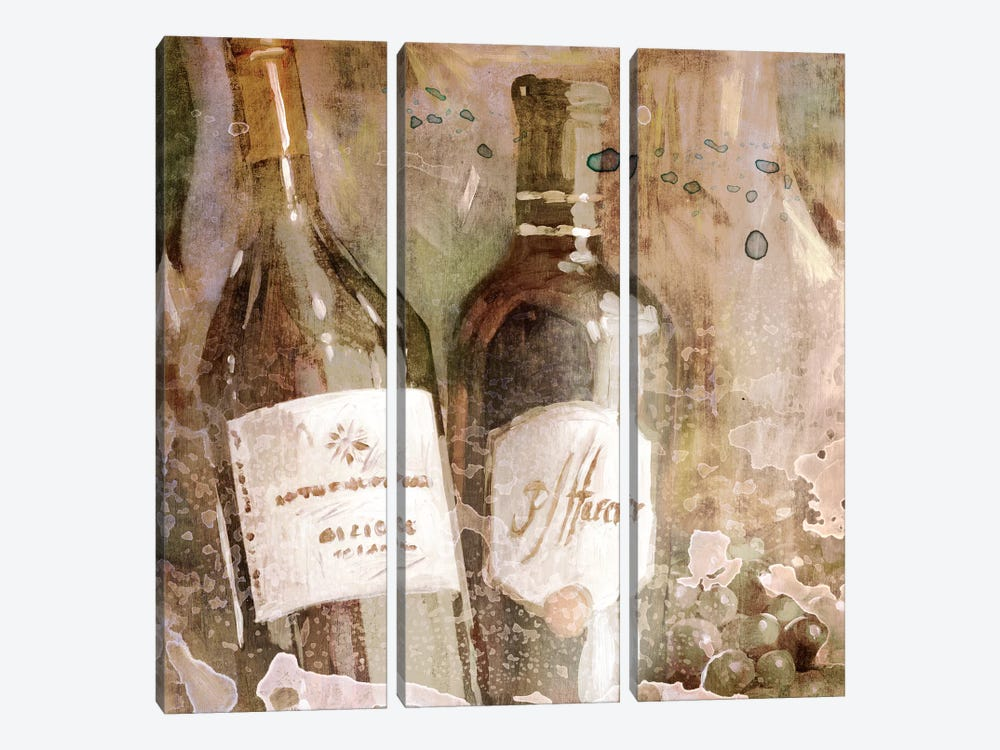 Wedding Wine I by Edward Selkirk 3-piece Canvas Art Print