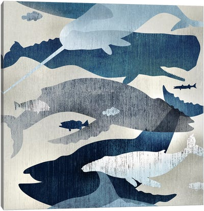 Whale Watching I Canvas Art Print