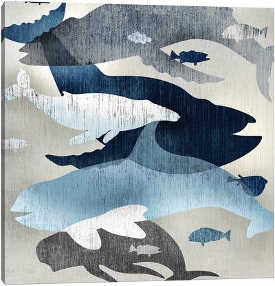 Whale Watching II Canvas Art Print