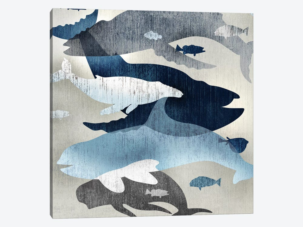 Whale Watching II by Edward Selkirk 1-piece Canvas Art
