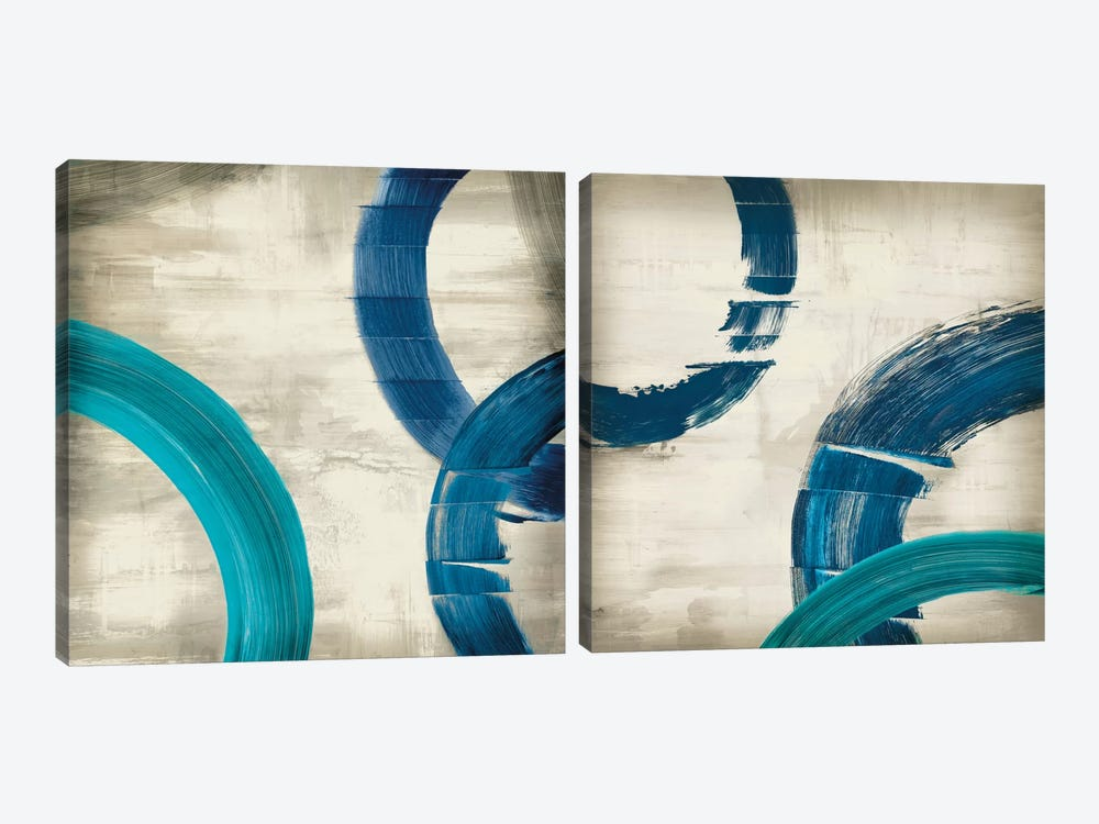 Halcyon Diptych by Edward Selkirk 2-piece Canvas Art