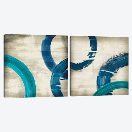 Halcyon Diptych Canvas Print Set #ESK2HSET002} by Edward Selkirk Canvas Art Print