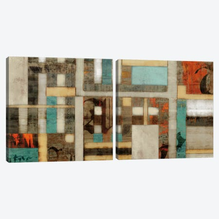 Lausa Diptych Canvas Print Set #ESK2HSET004} by Edward Selkirk Canvas Wall Art
