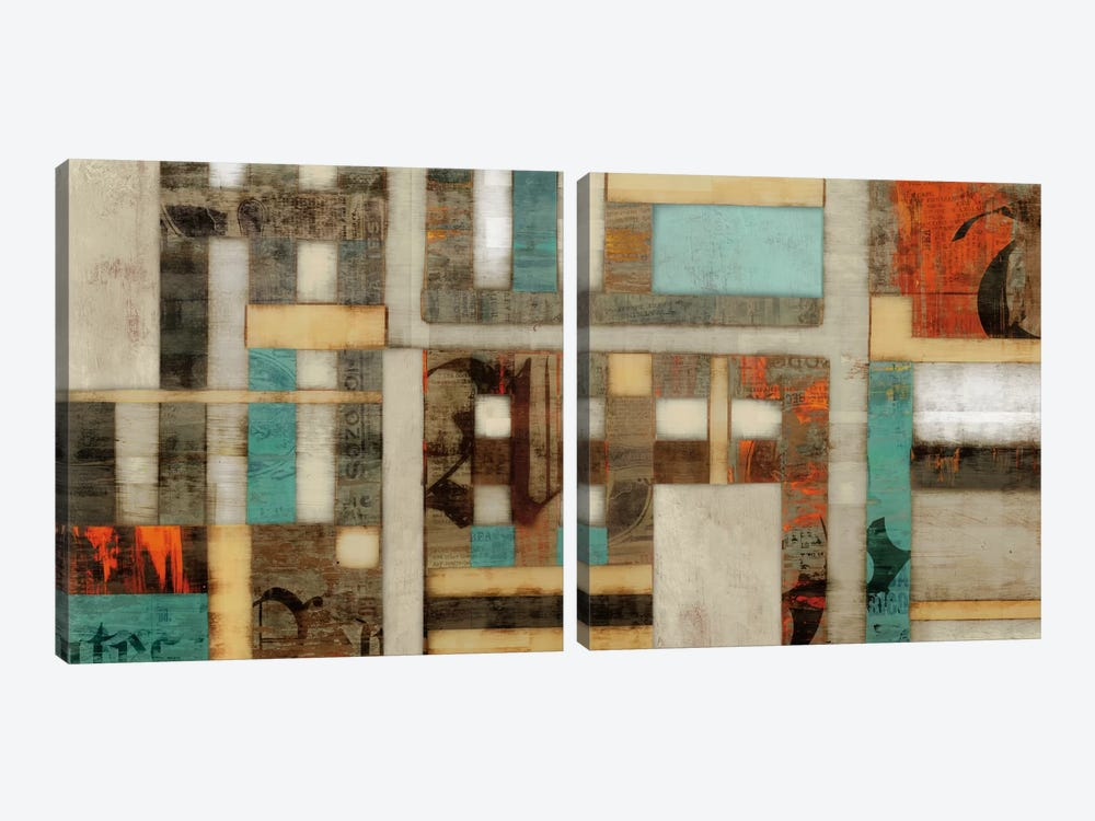 Lausa Diptych by Edward Selkirk 2-piece Canvas Art