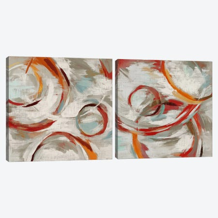Momentum Diptych Canvas Print Set #ESK2HSET006} by Edward Selkirk Canvas Wall Art