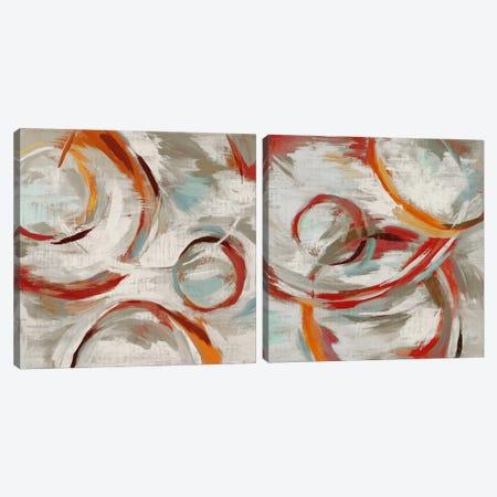 Momentum Diptych Canvas Print Set #ESK2HSET006} by Edward Selkirk Canvas Wall Art
