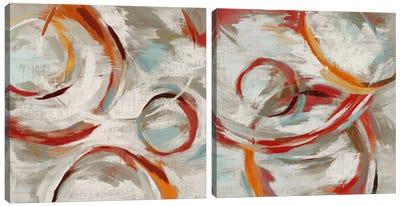 Momentum Diptych Canvas Art Print
