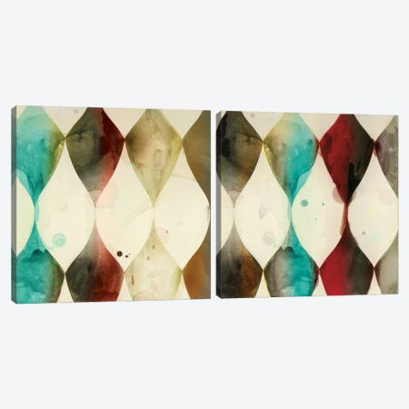 Spotted Heralds Diptych Canvas Print Set #ESK2HSET012} by Edward Selkirk Canvas Wall Art