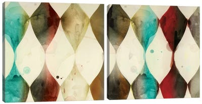 Spotted Heralds Diptych Canvas Art Print