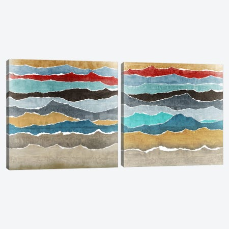 Torn Diptych Canvas Print Set #ESK2HSET013} by Edward Selkirk Canvas Artwork