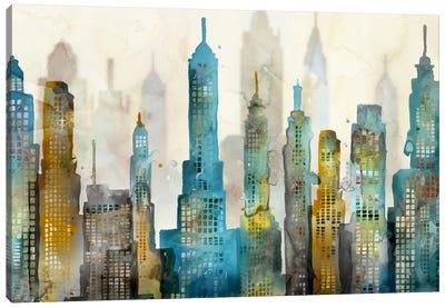 City Sky Canvas Art Print